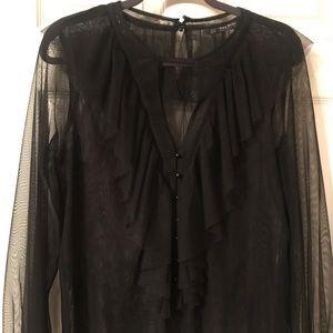 Tops - Zara Sheer blouse